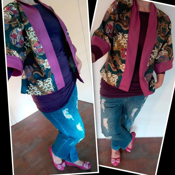 kimono+jeans