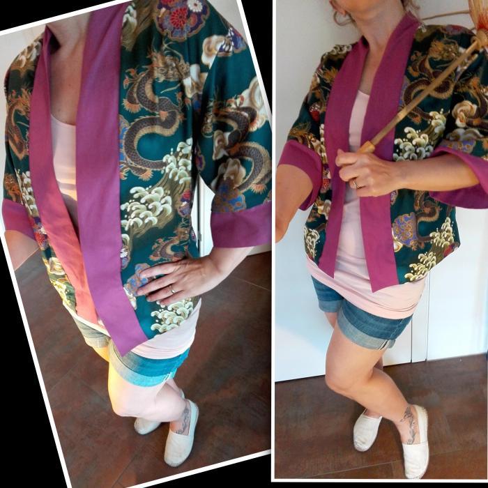 kimono+short